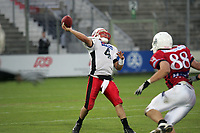 Pass von Ira Vandever (Quarterback Stuttgart Scorpions)