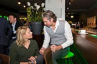 ABN AMRO World Tennis Tournament, Rotterdam, The Netherlands, 13 februari, 2017, Esther Vergeer (NED), Pieter van den Hoogenband (NED)<br /> Photo: Henk Koster