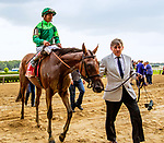JUNE 29, 2019 :  Dunbar Road with Jose Ortiz , wins the Mother Goose Stakes,for 3 year old fillies at Belmont Park, in Elmont, NY, June 29, 2019.  Sue Kawczynski_ESW_CSM