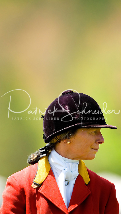 A jockey during the Queen's Cup Steeplechase in Mineral Springs, NC.