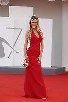 """VENICE, ITALY - SEPTEMBER 10: Michela Persico at the red carpet of the movie """"Un Autre Monde"""" during the 78th Venice International Film Festival on September 10, 2021 in Venice, Italy.<br /> CAP/GOL<br /> ©GOL/Capital Pictures"""