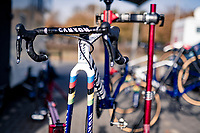 cx world champion Ceylin del Carmen Alvarado's (NED/Alpecin-Fenix) rainbow bike<br />