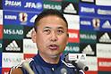 Football/Soccer: Japan vs New Zealand Women's Soccer Training Session in Kagawa Japan