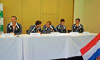 Austria, Kitzbuhel, Juli 16, 2015, Tennis, Davis Cup, Draw, Dutch team<br /> Photo: Tennisimages/Henk Koster