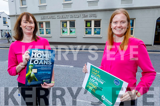 Jackie Foran and Ashley Fitzgerald of the the Listowel Credit Union