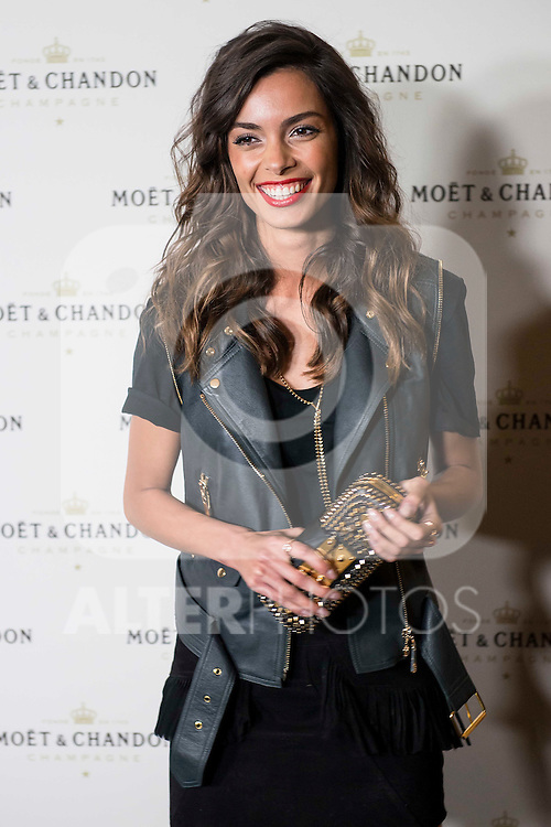"Joana Sanz attends to the photocall of the party ""OpenTheNow of Moët & Chandon in Madrid, December 02, 2015<br /> (ALTERPHOTOS/BorjaB.Hojas)"