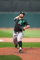 Dayton Dragons relief pitcher Lucas Benenati (16) during a game against the Cedar Rapids Kernels on July 24, 2016 at Perfect Game Field in Cedar Rapids, Iowa.  Cedar Rapids defeated Dayton 10-6.  (Mike Janes/Four Seam Images)