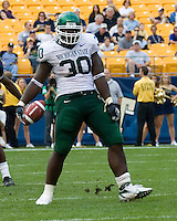 16 September 2006: Michigan State running back Jehuu Caulcrick (30)..The Michigan State Spartans defeated the Pitt Panthers 38-23 on September 16, 2006 at Heinz Field, Pittsburgh, Pennsylvania.