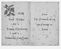 BNPS.co.uk (01202 558833)<br /> Pic: Pen&Sword/BNPS<br /> <br /> Pictured: Around 400,000 gift boxes such as this were distributed to the British troops at Christmas 1914 on behalf of Princess Mary.<br /> <br /> Previously unseen accounts of the First World War Christmas Day truce from the German side have come to light over 100 years on.<br /> <br /> British historian Anthony Richards has pored over hundreds of German diaries to shed new light on the temporary ceasefire in 1914.<br /> <br /> The fascinating accounts include one by a soldier who described the truce as a 'miracle' and called enemy troops his 'brothers'.