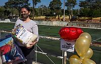 SÃO PAULO, SP, 09.05.2021 :  Ação Social -   A Central Única  das Favelas CUFA realiza ação social nesse dia das mães com doação de cestas básicas e cobertores na manhã deste domingo (09) no bairro de Perus , na zona noroeste da cidade de São Paulo SP.