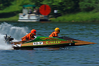 """Tom Eynon (10-P """"C-Weed"""") and Shawn Glossner (311-J) (runabout)"""