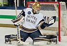 Mar. 1, 2013;  Hockey vs. Bowling Green, Steven Summerhays makes a save.