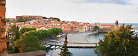 Collioure. Roussillon. France. Europe.