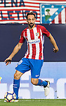Juanfran of Atletico de Madrid in action during their La Liga match between Atletico de Madrid and Granada CF at the Vicente Calderon Stadium on 15 October 2016 in Madrid, Spain. Photo by Diego Gonzalez Souto / Power Sport Images