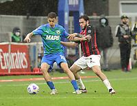 Milano  21-04-2021<br /> Stadio Giuseppe Meazza<br /> Serie A  Tim 2020/21<br /> Milan - Sassuolo<br /> Nella foto:  Davide Calabria                                    <br /> Antonio Saia Kines Milano
