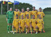 Belgium - Ukraine : ploegfoto Team Ukraine<br /> foto DAVID CATRY / Nikonpro.be
