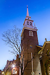 Old North Church on the Freedom Trial, Boston National Historical Park, Boston, Massachusetts, USA
