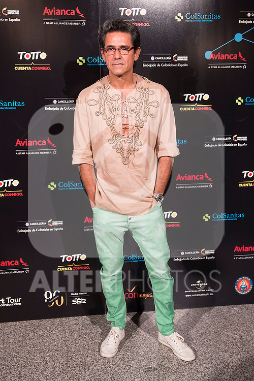 Jesus Cabañas attends the photocall before the concert of colombian singer Juanes in Royal Theater in Madrid, Spain. July 23, 2015.<br />  (ALTERPHOTOS/BorjaB.Hojas)