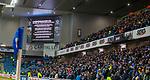 04.03.2020: Rangers v Hamilton: Coronavirus info on big screens at Ibrox