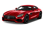 2020 Mercedes Benz AMG-GT - 3 Door Coupe Angular Front automotive stock photos of front three quarter view
