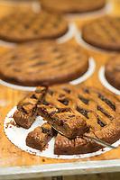 Europe/Allemagne/Bade-Würrtemberg/Forêt Noire/Bad Peterstal-Griesbach: Linzertorte, tarte tarditionnelle de la région de Bade de Claudius Schmiedrer boulanger de la boulangerie: Schmiedrer