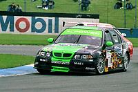 2002 British Touring Car Championship. #11 Anthony Reid (GBR). MG Sport & Racing. MG ZS.