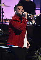 """HOLLYWOOD, CA - MAY 27: Shay Mooney of Dan + Shay performs on the 2021 """"iHeartRadio Music Awards"""" airing live from The Dolby Theatre in Los Angeles, Thursday, May 27 (8:00-10:00 PM ET live / PT tape-delayed) on FOX.  (Photo by Frank Micelotta/FOX/PictureGroup)"""