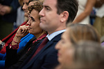 "Dolors Monserrat and Teodoro Garcvia Egea in the presentation of the book ""Cada dia tiene su afan"" by former minister Jorge Fernandez Diaz with Mariano Rajoy<br /> October 10, 2019. <br /> (ALTERPHOTOS/David Jar)"