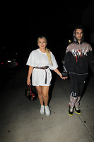 Cole Moscatel And Kelsea Moscatel Show Some PDA In Beverly Hills