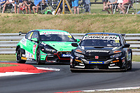 Rounds 3,4 & 5 of the 2020 British Touring Car Championship. #32 Daniel Rowbottom. Halfords Racing with Cataclean. Honda Civic Type R.