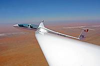 ASG 32 über der Kalaharie