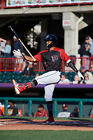 Erie SeaWolves Jose Azocar (24) during an Eastern League game against the Altoona Curve on June 3, 2019 at UPMC Park in Erie, Pennsylvania.  Altoona defeated Erie 9-8.  (Mike Janes/Four Seam Images)