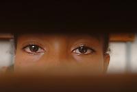 ethiopia, addis abeba, alcune ragazze, nel recente passato vittime di abuso sessuale, grazie all'aiuto dell'ong italiana Il Sole partecipano ad un corso di teatro. Il mago di Oz.Some girl, sexual abused, take part in a theatre workshop, thank to italian ngo Il Sole. The Wizard of Oz