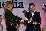 18.09.2012. Presentation of 'SMedia Group Theatre Season 2012/2013' at the Theater Cofidis in Madrid. In the image Maria Adanez and Jorge Blass (Alterphotos/Marta Gonzalez) .