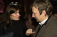 October 9 2003 File Photo<br /> Anne Marie Cadieux and Robert Lepage<br /> Photo Pierre Roussel / Images Distribution