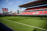 TORONTO, ON - OCTOBER 15: BMO Field prior to the start of the United States v Canada CONCACAF Nations League match during a game between Canada and USMNT at BMO Field on October 15, 2019 in Toronto, Canada.
