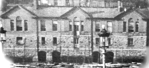 The building in its first incarnation as the Kingstown Royal Harbour Boat Club in the 1870s. When the tide was in, the kind-hearted discerned some resemblance to a miniature Venetian palazzo