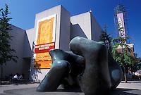 Toronto, Canada, Ontario, Sculpture outside The Art Gallery of Ontario in downtown Toronto.