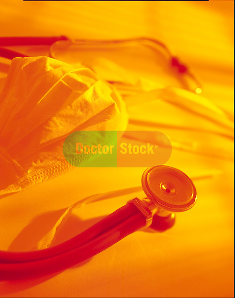 stethoscope and surgical mask