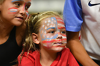 Carson, CA - Thursday August 03, 2017: Fan after the 2017 Tournament of Nations match between the women's national teams of the United States (USA) and Japan (JPN) at the StubHub Center.
