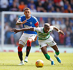 01.09.2019 Rangers v Celtic: James Tavernier and Boli Bolingoli