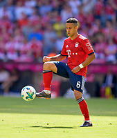12.05.2018, Football 1. Bundesliga 2017/2018, 34.  match day, FC Bayern Muenchen - VfB Stuttgart, in Allianz-Arena Muenchen. Thiago (FC Bayern Muenchen) . *** Local Caption *** © pixathlon<br /> <br /> +++ NED + SUI out !!! +++<br /> Contact: +49-40-22 63 02 60 , info@pixathlon.de