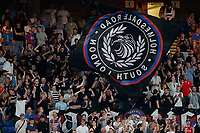 Crystal Palace fans during the Carabao Cup 2nd round match between Crystal Palace and Colchester United at Selhurst Park, London, England on 27 August 2019. Photo by Carlton Myrie / PRiME Media Images.