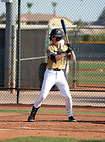 Mason Neville of  CBA Marucci National 2022 plays in the USA Baseball West Championships at Phoenix area baseball complexes from June 23-29, 2021 (Bill Mitchell)