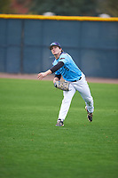 Mason Roach (9) of Covenant Christian Acad. High School in Colleyville, Texas during the Under Armour All-American Pre-Season Tournament presented by Baseball Factory on January 14, 2017 at Sloan Park in Mesa, Arizona.  (Mike Janes/MJP/Four Seam Images)