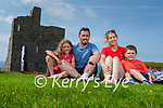 Enjoying the day in Ballybunion on Sunday, l to r: Katie, Mark, Marion and Kieran McGuire from Tarbert.