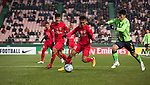 Jeonbuk Hyundai Motors vs Becamex Binh Duong during their 2016 AFC Champions League Group E match on March 15, 2016 at the Jeonju World Cup Stadium in Jeonju, South Korea. Photo by Lee Jae-Won / Power Sport Images