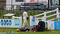 Billy Root of Glamorgan walks back to the pavilion after scoring thirty seven runs during Sussex CCC vs Glamorgan CCC, LV Insurance County Championship Group 3 Cricket at The 1st Central County Ground on 5th July 2021