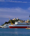 ITA, Italien, Marken, Ancona: Hafen mit Kathedrale S. Ciriaco | ITA, Italy, Marche, Ancona: port with cathedral S. Ciriaco