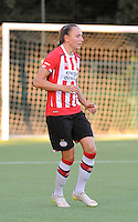 20160824 - GENT , BELGIUM : PSV Eindhoven's Nadia Coolen  pictured during a friendly game between KAA Gent Ladies and PSV Eindhoven during the preparations for the 2016-2017 season , Wednesday 24 August 2016 ,  PHOTO Dirk Vuylsteke   Sportpix.Be